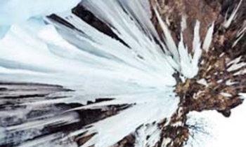 ตื่นตา! น้ำแข็งงอกน้ำแข็งย้อยในจีน