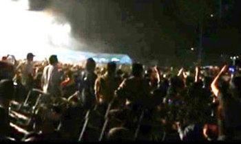 ปาระเบิดคอนเสิร์ต'ปู พงษ์สิทธิ์ 25 ปี'เจ็บ4สาหัส1