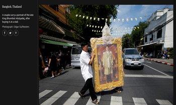 ศรัทธาไทยติดอันดับภาพประจำวันเดอะการ์เดี้ยน