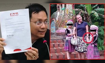 สื่อต่างชาติ  ส่งหนังสือขอโทษ  2เด็กหญิงม้ง หลังถูกกล่าวหาขโมยนาฬิกา นทท.