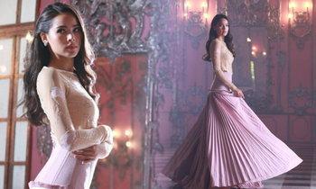 พระองค์หญิงสิริวัณณวรีฯ ประทานชุดให้ ญาญ่า ใส่ถ่ายละคร สวยสง่ามาก