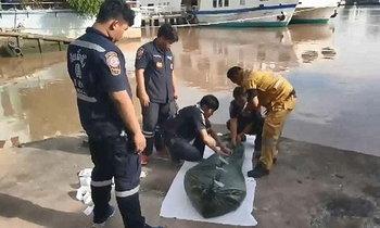 ศพพนักงานโรงแรมดัง ลอยกลางแม่น้ำเจ้าพระยา คาดฆ่าตัวตาย
