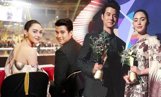 ขึ้นแท่นซุปตาร์เอเชีย! ใหม่ ดาวิกา - มาริโอ้ รับรางวัล Asia Model Awards ที่เกาหลี