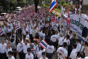หลายจว.รณรงค์หยุดทำร้ายประเทศไทย