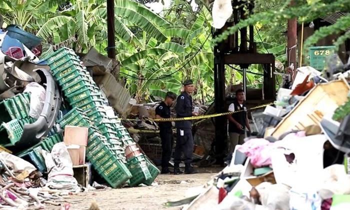 สารเร่งลำไยระเบิดคาโกดังของเก่า คนงานเจ็บปางตาย 2