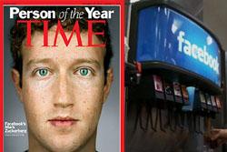 ไทม์ยกหนุ่มเจ้าของเฟซบุ๊กบุคคลแห่งปี2010