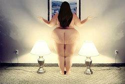 คนอ้วนถ่ายภาพนู้ด สุดเซ็กซี่