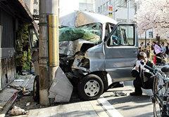 หนุ่มลมบ้าหมู ขับรถพุ่งชนคนดับ 8 ศพที่ญี่ปุ่น