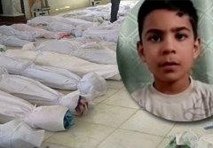 เด็ก 11 เล่านาทีแกล้งตาย รอดชีวิตสังหารหมู่ซีเรีย