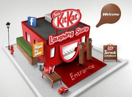 เปิดแล้ว!! ร้านค้าออนไลน์รูปแบบใหม่จาก Kit Kat
