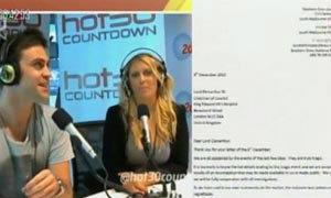วิทยุออสเตรเลียแสดงความเสียใจกรณีพยาบาลสาวฆ่าตัวตาย