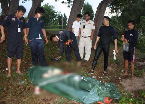พบชายเปลือยกายถูกฆ่าทึ้งทะเลสัตหีบ