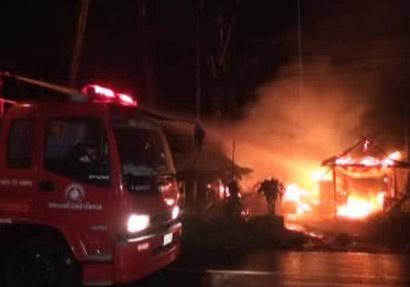ไฟไหม้โรงงานซ่อมรถเอทีวีวอดกว่า3ล้าน