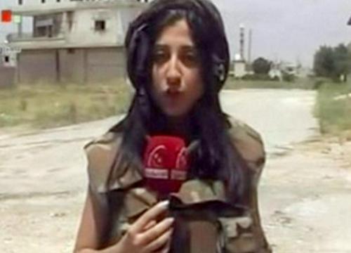 นักข่าวหญิงซีเรียโดยยิงดับขณะรายงานข่าว