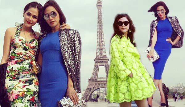 พลอย ชมพู่ จัดเต็มเที่ยวเมืองแฟชั่น ปารีส