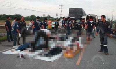 เหยื่อรถตู้มรณะป้ายดำ ตายเพิ่มอีก 2 เป็น 11 ศพ เร่งถกแก้วินเถื่อน สั่งป้ายดำห้ามวิ่งเด็ดขาด