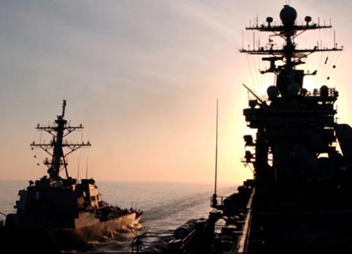 สหรัฐส่งเรือรบยูเอสเอสนิมิตซ์รอถล่มซีเรีย