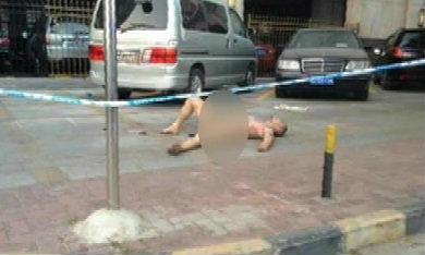 วิ่งเปลือยหนีตาย! สาวจีนยัวะ ตะเพิดไล่สาดน้ำกรด