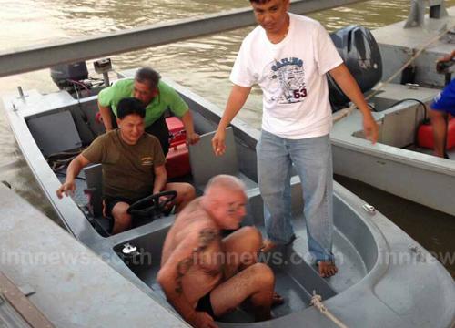 ชาวอังกฤษโดดน้ำโขงหวังว่ายไปลาวช่วยทัน