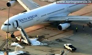 พบศพนิรนามในล้อเครื่องบินจากแอฟริกาใต้ที่สนามบินสหรัฐฯ