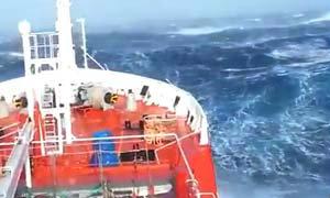ชาวเน็ตแชร์ คลิปคลื่นยักษ์มหาสมุทรอินเดียที่ ตามหาเครื่องบิน MH370