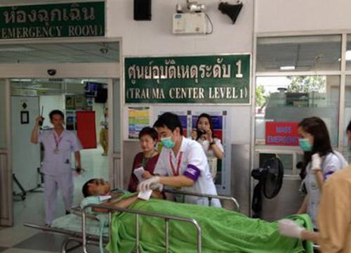 ร.พ.มหาราชนครเชียงใหม่ซ้อมแผนอุบัติเหตุหมู่