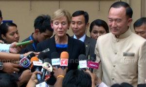 ปนัดดาพบทูตUSยันลดอันดับค้ามนุษย์ไทยไม่โยงคสช.