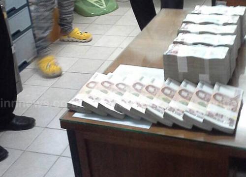 เชียงรายจับ2ชาวลาวขนเงิน10.9ล้านออกไทย