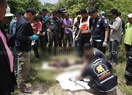 ฆ่าหนุ่มใหญ่ปราจีนฯหมกป่าริมถนนบ้านโคกป่าแพง