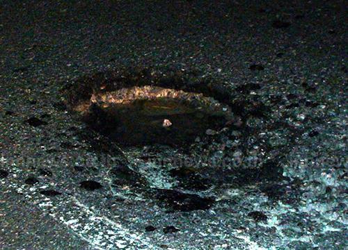 ถนนสายเอเซียพัง รถตกหลุม 5 วันกว่า 30 คัน