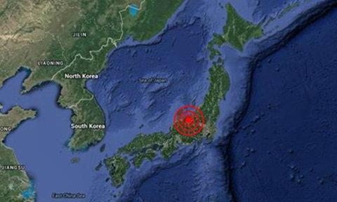 แผ่นดินไหวรุนแรง สั่นสะเทือน จีน-ญี่ปุ่น ในวันเดียวกัน