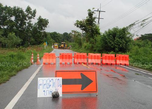 น้ำซัดคอสะพานขาดโรงเรียนอาจเปิดไม่ได้