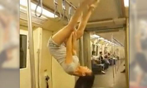 รฟม.ไม่บันเทิง! จ่อเอาผิดสาวเต้นรูดเสารถไฟฟ้าใต้ดิน