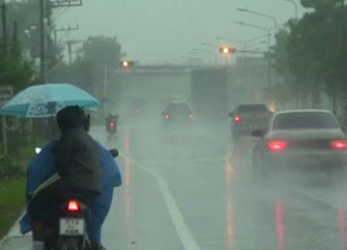 อุตุฯ เตือนไทยมีฝนบางแห่ง-กทม.ฝน ร้อยละ 20
