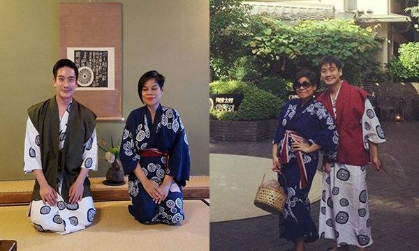 พักดราม่า! โอปอล์ อุ้มท้องลูกแฝดเที่ยวญี่ปุ่น