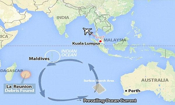 มัลดีฟส์ร่วมหา MH370 หลังมีรายงานพบซากตามเกาะ