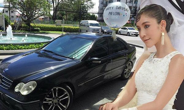 แตงโม เฉลยแล้ว สาวหล่อซื้อรถเบนซ์ให้จริงหรือไม่?