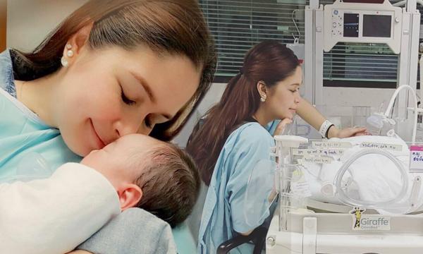 น้องมาริลิน ลูกสาวแรกเกิด เมย์ มาริษา ป่วยโรค PPHN