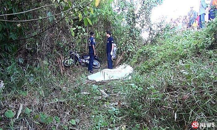 มือปืนยิงยกครัวดับ 2 ศพ แม่ลูกหนีตายซ่อนในป่า