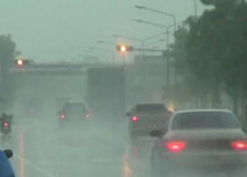 อุตุฯพยากรณ์เที่ยงเหนืออีสานฝนเพิ่มกทม.70%