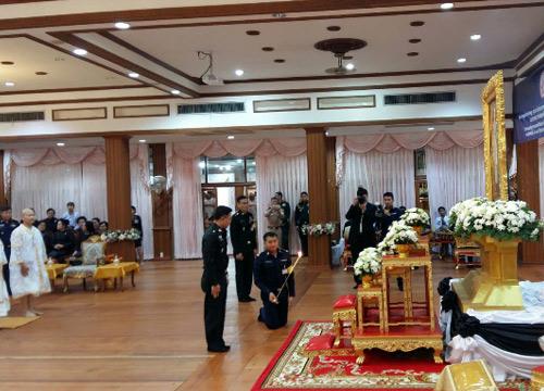 กองทัพไทยจัดอุปสมบทหมู่ถวายเป็นพระราชกุศล