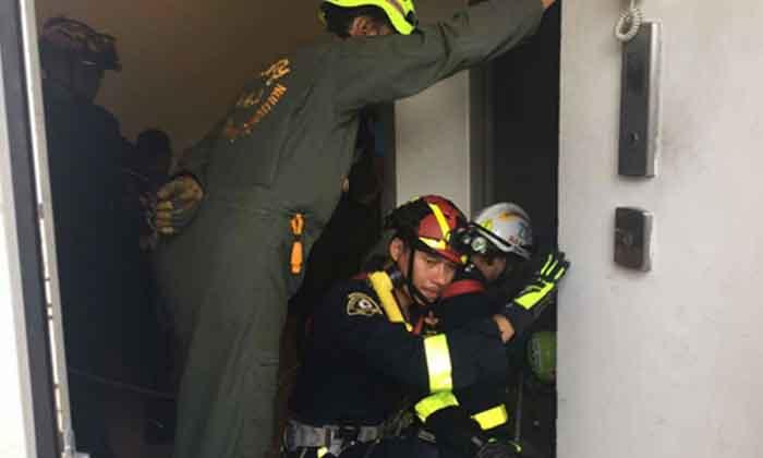 ชายต่างชาติพลัดตกปล่องลิฟท์คอนโดหรูเสียชีวิต