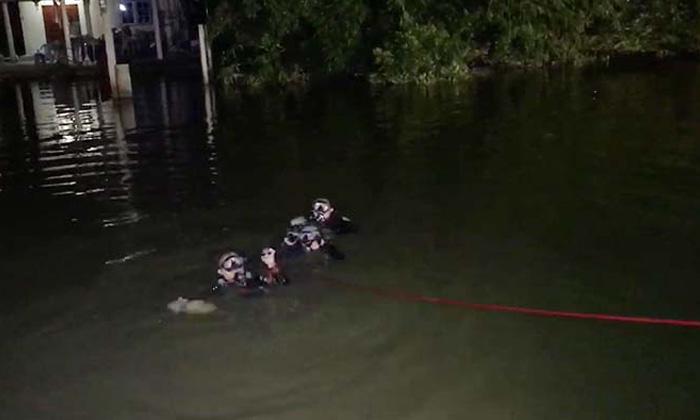 สุดเศร้า ดาบตำรวจว่ายน้ำตามจับคนร้าย หมดแรง จมน้ำดับในหน้าที่