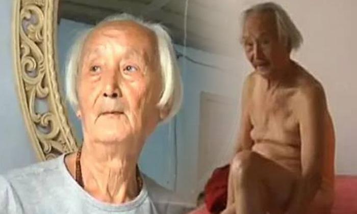 นายแบบนู้ดชาวจีนวัย 88 กลัวเหงา ประกาศหาคู่ชีวิต