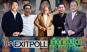 ผล EXIT POLL เลือกตั้งผู้ว่ากทม. 2556