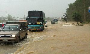 ประมวลภาพ น้ำท่วม สระแก้ว 2556