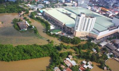 น้ำลำตะคองทะลักท่วมเมืองโคราชหลายชุมชน