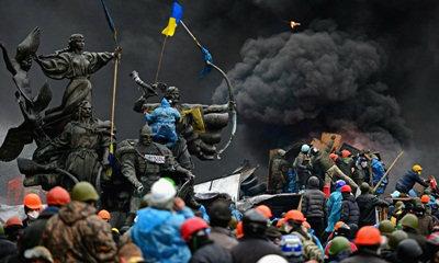 ม็อบยูเครนดุเดือด เจรจาเหลว ปะทะตำรวจรอบใหม่