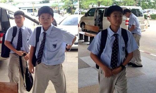 ภาพยืนยัน! น้องไปป์ ยังเรียนเมืองไทย ไม่ได้ลาออก