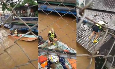 นาทีชีวิต! กู้ภัยหวิดดับ เรือถูกดูดจมใต้สะพาน